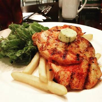Grilled Chicken Chop #dinner #christmasdinner #chickenchop