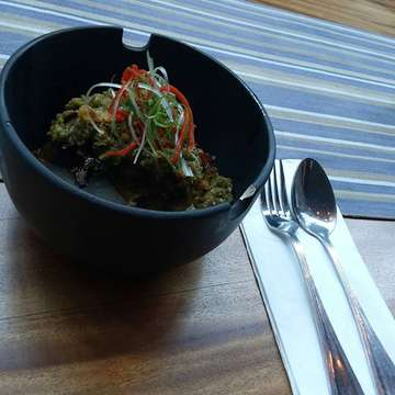 OX Toungue cabe ijo... Mantab.. #lunch #lunchtime #menu #mantab