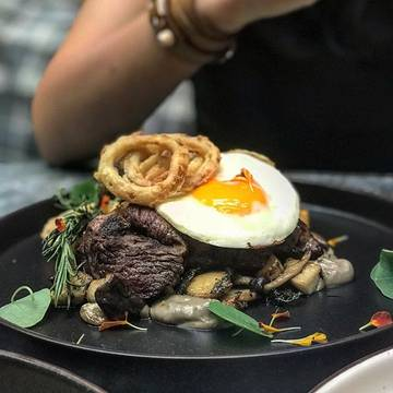 Steak & egg #brunchjkt