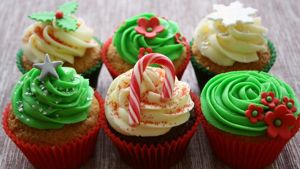 Christmas Cupcake Design : Recipe: How To Make Christmas Cupcake